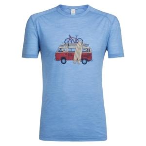 icebreaker(アイスブレイカー) スフィア ショートスリーブ クルー ヴァン サーフ ライフ メンズ IT21821 メンズ速乾性半袖Tシャツ