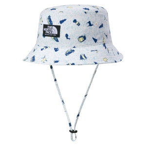 THE NORTH FACE(ザ・ノースフェイス) K NOVELTY CAMP SIDE HAT(ノベルティキャンプサイドハット キッズ) NNJ01804 ハット(ジュニア・キッズ・ベビー)