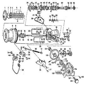 ダイワ(Daiwa) パーツ:スポーツマチック X5000BR ベアリングリティーナー No047 160:370