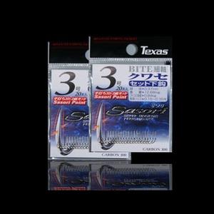 ラインシステム BITE クワセ 3号 シルバー(白) SB0-003