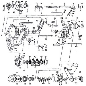 ダイワ(Daiwa) パーツ:シーボーグ Z500T クリックリーフSP(部品No.120) 181:066