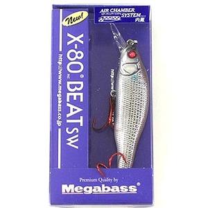 メガバス(Megabass) X-80 BEAT SW ミノー(リップ付き)
