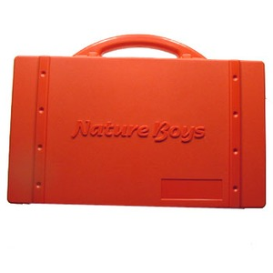 Nature Boys(ネイチャーボーイズ) RECYCLED LURE BOX(リサイクルド ルアーボックス) レッド LB-B02
