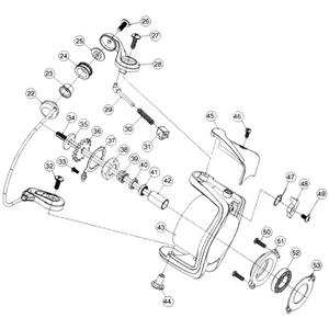 ダイワ(Daiwa) パーツ:スプリンター HV1500 ローターロックプレートSC No033 10A:528