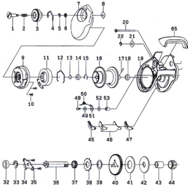 ダイワ(Daiwa) パーツ:スマック 100R ブレーキダイヤルリテイナー A No005 10F:014 マグブレーキ用その他パーツ