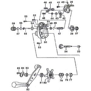 ダイワ(Daiwa) パーツ:エアド 100L メカニカルブレーキOリング No054