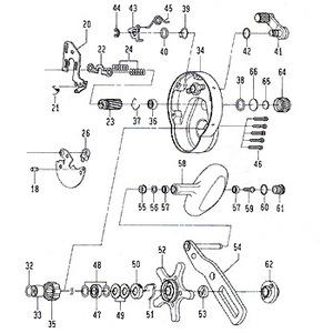 ダイワ(Daiwa) パーツ:ソルティガ Z40 クラッチプレート No022 117:030