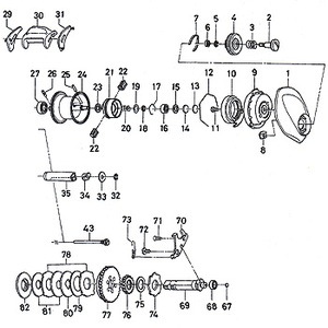 ダイワ(Daiwa) パーツ:アルファス103L TYPE-F ブレーキダイヤルリテイナー A No005 10F:014