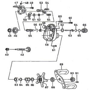 ダイワ(Daiwa) パーツ:SCプレッソ ベイトリール メカニカルブレーキリング No062 10J:002