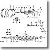 パーツ:ミリオネアブラックシープ 250 LSプレートギヤーSC No006