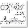 パーツ:ミリオネアブラックシープ 250 クラッチカムW No025
