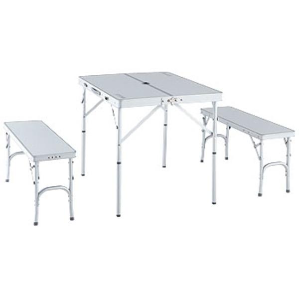 ロゴス(LOGOS) アルクリーンベンチテーブルセット4 73021535 テーブル・チェアセット