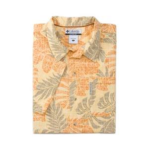 Columbia(コロンビア) ビーチャーアイランドIIプリントシャツ S 745(Honeysuckle)