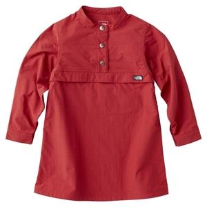 【送料無料】THE NORTH FACE(ザ・ノースフェイス) PULLOVER DRESS KIDS'(プルオーバー ドレス キッズ) 100cm SY(シェラレッド) NPG71707