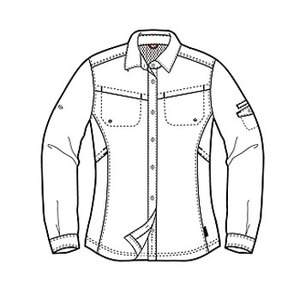 Columbia(コロンビア) ウィメンズ シルバーリッジIIIロングスリーブシャツ L 100(White)