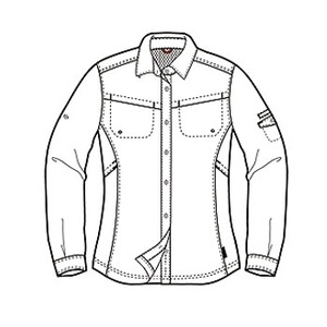 Columbia(コロンビア) ウィメンズ シルバーリッジIIIロングスリーブシャツ S 100(White)