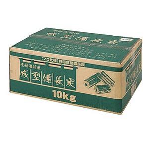 【送料無料】BUNDOK(バンドック) 業務用成型備長炭 キャンプ/バーベキュー用 10kg BD-361