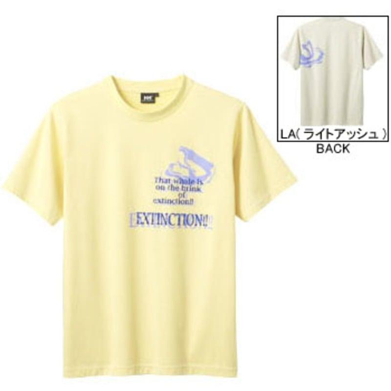 HELLY HANSEN(ヘリーハンセン) HH68203 グラフィックTシャツ S CY(クリームイエロー)
