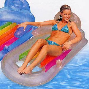 インテックス キングクールラウンジ #58802SV ビーチ・プール用品