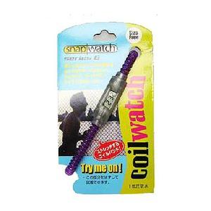 HOGWILD スナップウォッチシリーズ6 コイルウォッチ M パープル