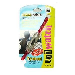HOGWILD スナップウォッチシリーズ6 コイルウォッチ M レッド