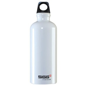 SIGG(シグ) トラベラーホワイト 0.6L ブラックキャップ 00050038