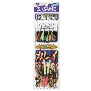 ささめ針(SASAME) カレイ遊動 逆付けフラッシャー 12号 J-110