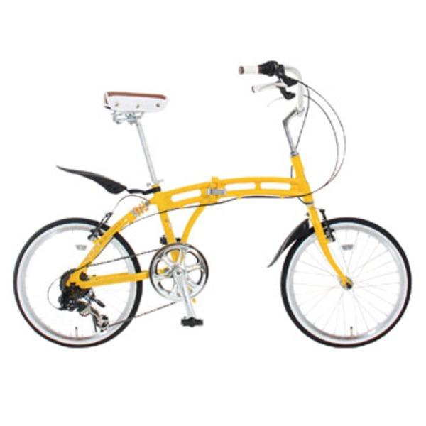 ドッペルギャンガー(DOPPELGANGER) 204 bellair 204 20インチ変速付き折りたたみ自転車