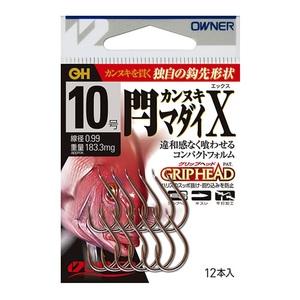 オーナー針 閂マダイ X 8号 13180