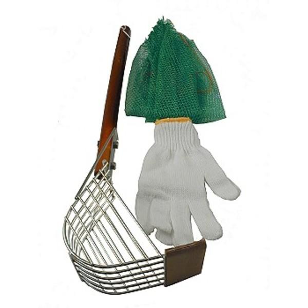 ナカジマ ジョレンセット ステンレス(潮干狩りセット) 魚・カニ取り仕掛・用具