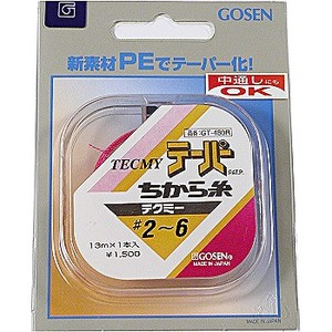 ゴーセン(GOSEN) テクミーテーパー力糸 13m×1本継 GT-480R