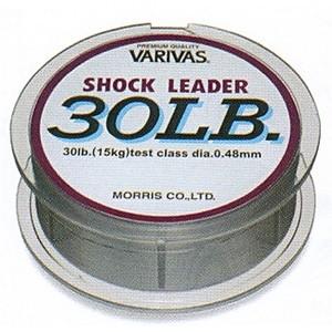 モーリス(MORRIS) バリバス ショックリーダー 90lb/24号 ミストグレー 21059