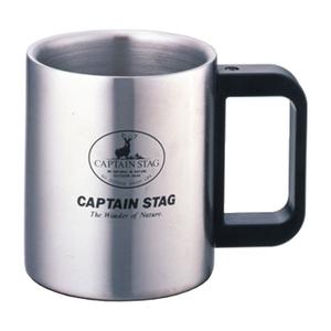 キャプテンスタッグ(CAPTAIN STAG) フリーダムダブルステンマグカップ M-7328 ステンレス製マグカップ