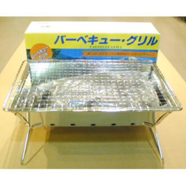 グリーンライフ バーベキューグリル/木炭付 BBQコンロ(卓上タイプ)