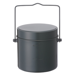 ロゴス(LOGOS) ロゴス丸型飯盒(5合) 81234300