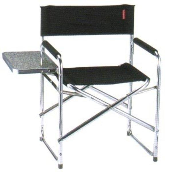 キャプテンスタッグ(CAPTAIN STAG) グラシアサイドテーブル付アルミディレクターチェア M-3807 ディレクターズチェア