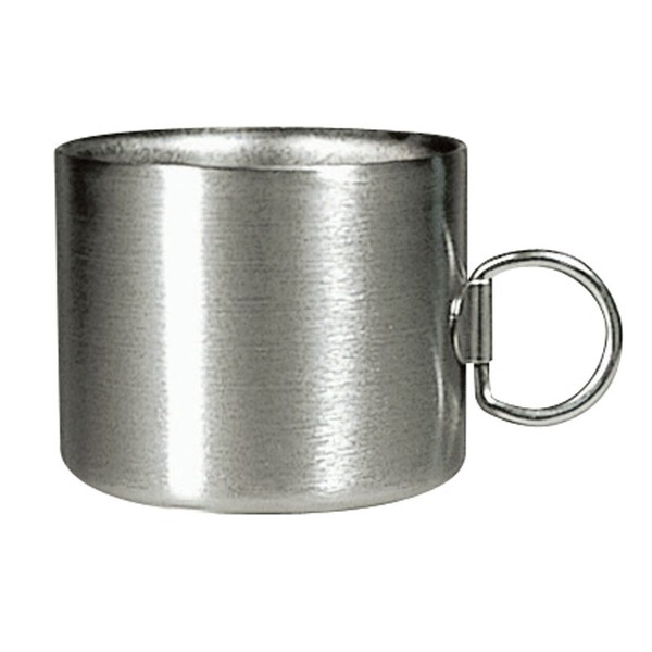 ベルモント(Belmont) チタンミニダブルマグ 120ml BM-014 チタン製マグカップ