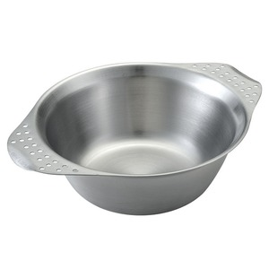 ユニフレーム(UNIFLAME) キャンプボール 666210 ステンレス製お皿