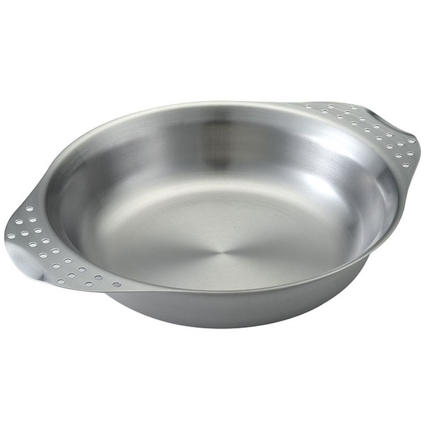 ユニフレーム(UNIFLAME) キャンププレート 666234 ステンレス製お皿