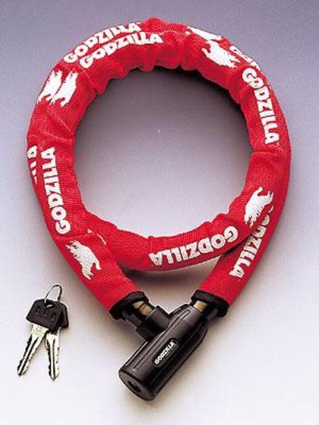 GODZILLA(ゴジラ) 小型シリンダータイプリンクケーブルロック SGM-201 鍵・ロック