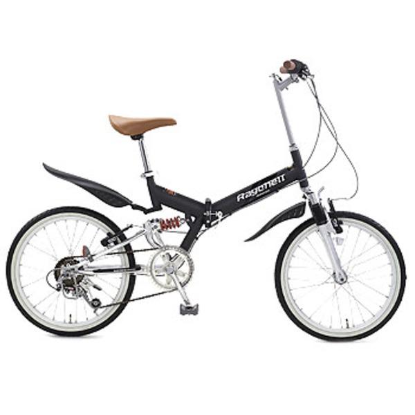 Raychell(レイチェル) 6段変速Wサスペンション折り畳み自転車/MFWS-206F MFWS-206FBK その他サイズ折りたたみ自転車