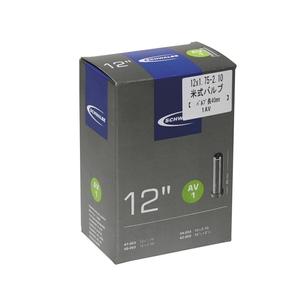 SCHWALBE(シュワルベ) 【正規品】チューブ 12インチ 米式バルブ 12x1.75-2.10 1AV