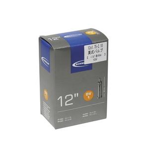 SCHWALBE(シュワルベ) 【正規品】チューブ 12インチ 英式バルブ 12x1.75-2.10 1DV