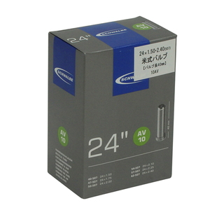 SCHWALBE(シュワルベ) 【正規品】チューブ 24インチ 米式バルブ 24x1.50/2.50 10AV