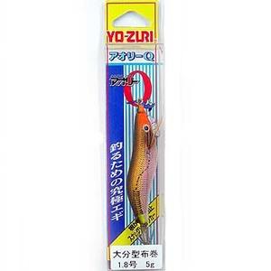 ヨーヅリ(YO-ZURI) アオリーQ大分布巻 1.8号 86(レッドテープ) A1348-86