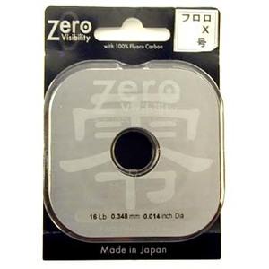 キャップス(Caps) ZERO フロロティペット 0X 25m クリア 063406012