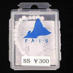 キャップス(Caps) F・A・I・S(フェイス)スチロールボールマーカー SS ホワイト