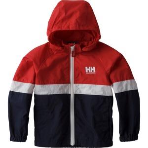 【送料無料】HELLY HANSEN(ヘリーハンセン) HOJ11704 K Tri Bergen Jacket(トライ ベルゲン ジャケット キッズ) 100cm RH(レッドxヘリーブルー)