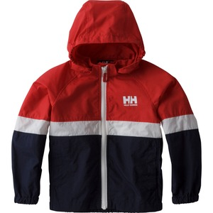 【送料無料】HELLY HANSEN(ヘリーハンセン) HOJ11704 K Tri Bergen Jacket(トライ ベルゲン ジャケット キッズ) 110cm RH(レッドxヘリーブルー)