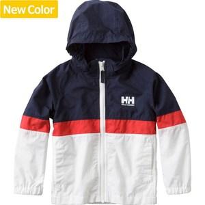 【送料無料】HELLY HANSEN(ヘリーハンセン) HOJ11704 K Tri Bergen Jacket(トライ ベルゲン ジャケット キッズ) 100cm HW(ヘリーブルーxホワイト)
